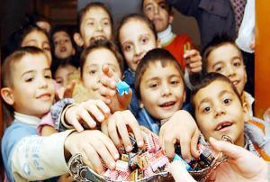 Ramazan Bayramı-Şeker Toplama