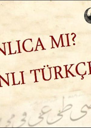 Osmanlica