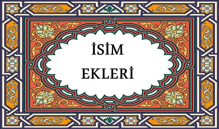 Osmanlıca isim ekleri