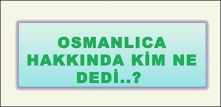 Osmanlıca ile ilgili