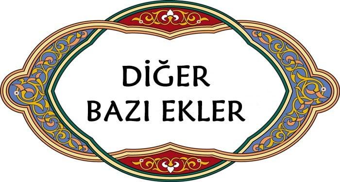 Osmanlıca ekler