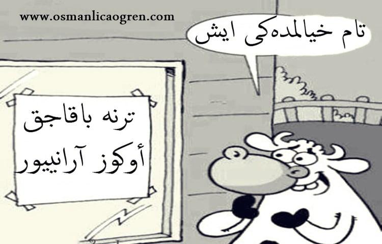 Osmanlıca karikatür